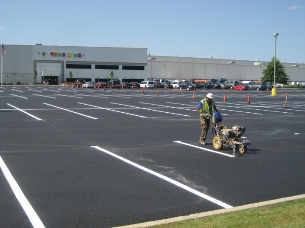 What's The Average Cost To Line Stripe A Parking Lot?