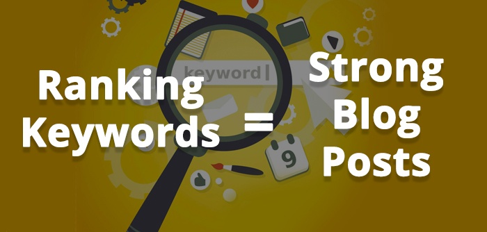 Finding Ranking Keywords to Use for Blog Posts