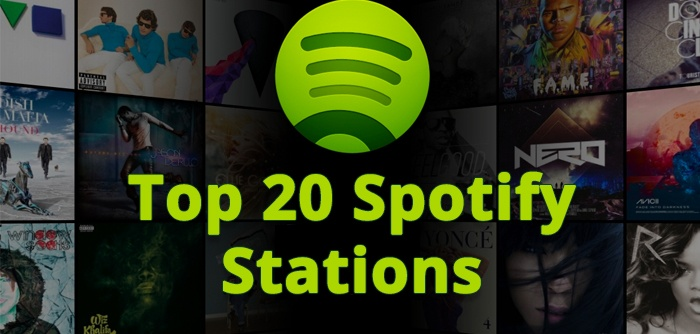 Top 20 Spotify Stations We Listen To At The Office