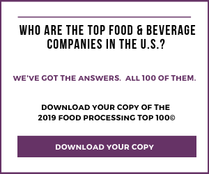 Top 100 Food and Beverage Companies for 2019: Bouncing Back