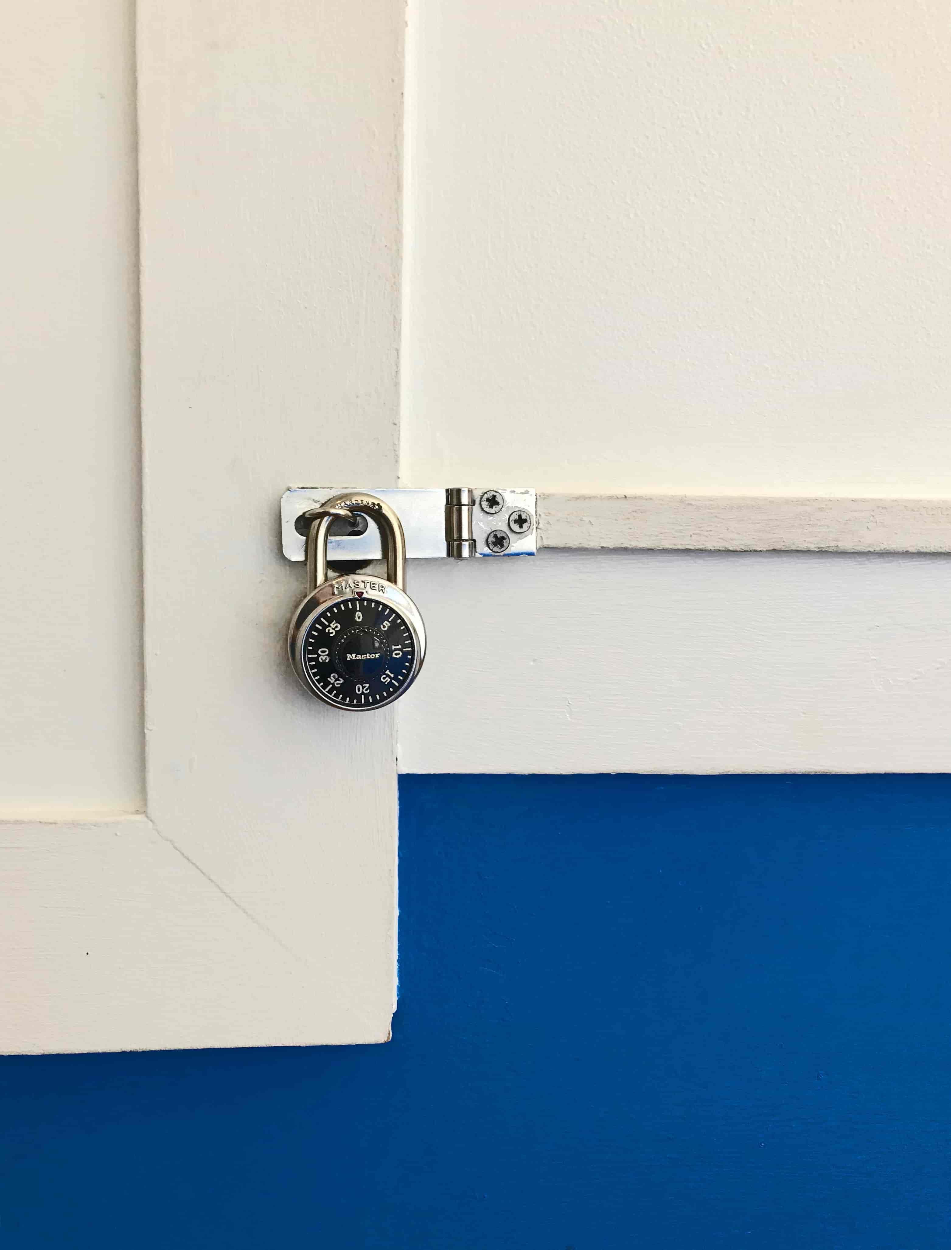 Keep sensitive data locked securely away