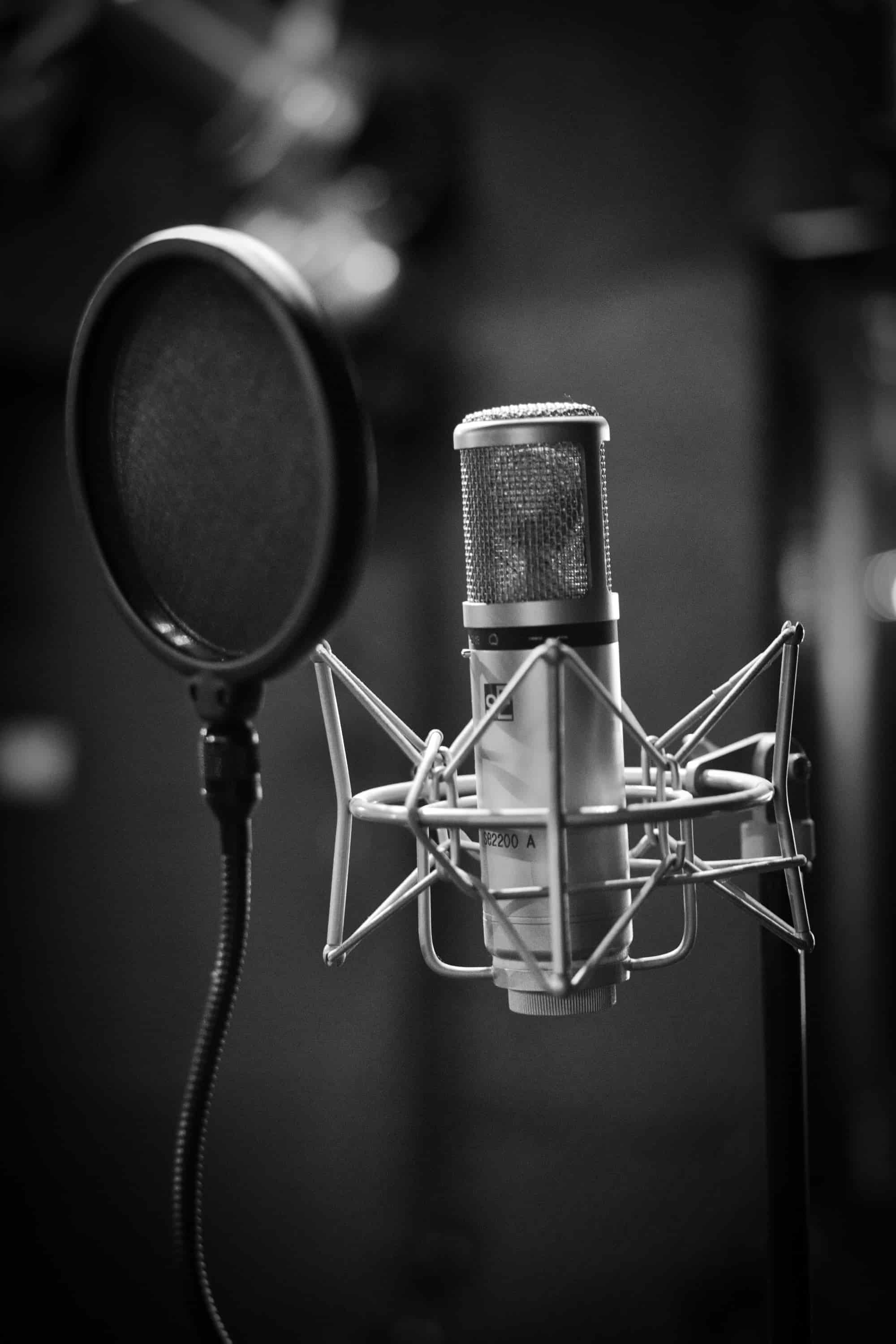 Quality microphones are important for podcasters