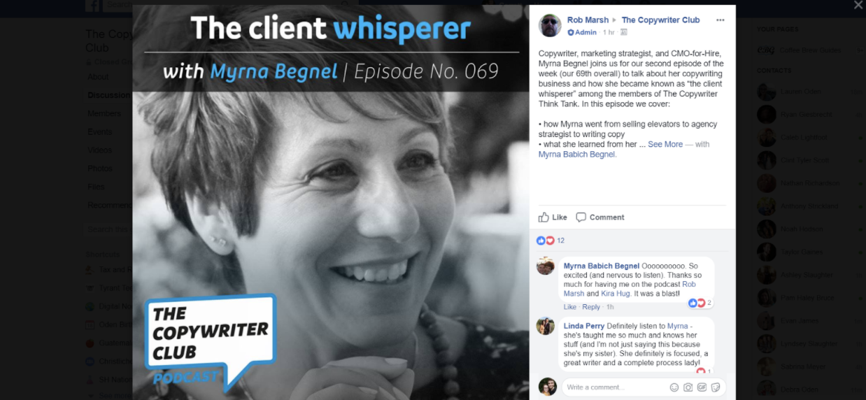 Learn how Facebook groups can grow your podcast listenership.