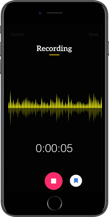 Trint Transcription App for iPhone