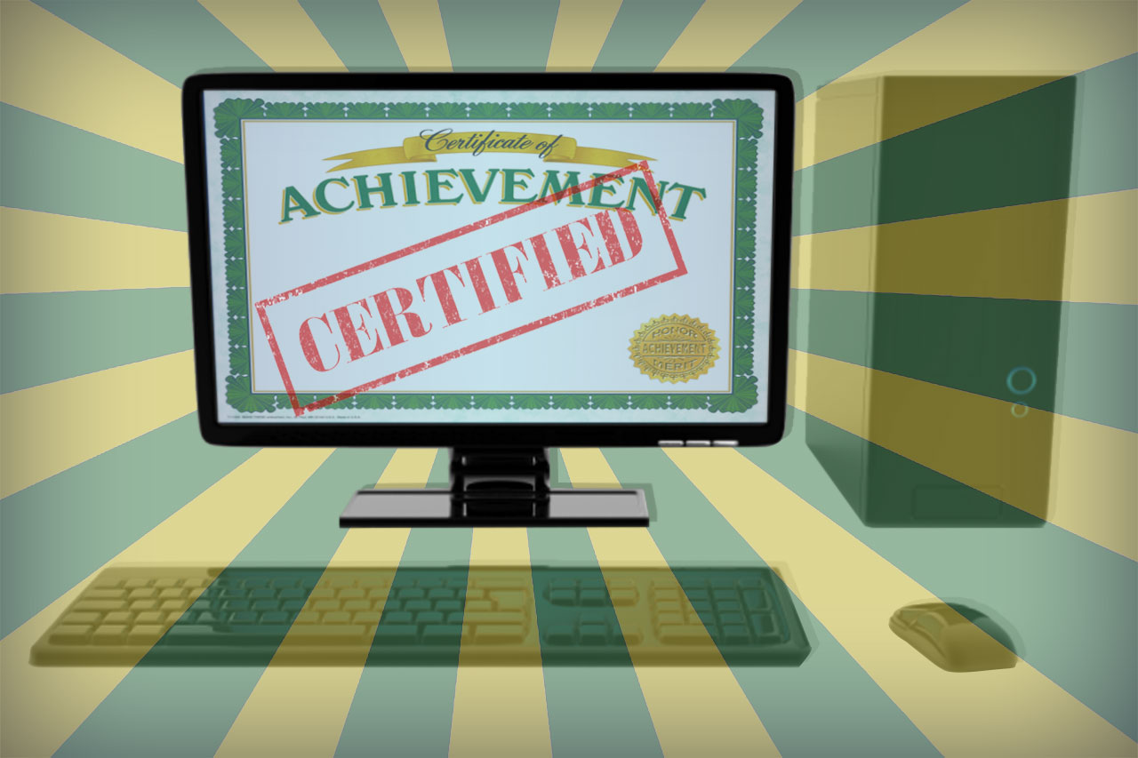 Should Your Online Training Program Use Certifications?