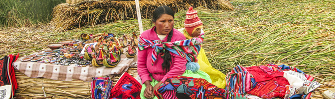 Local Peruvian Woman