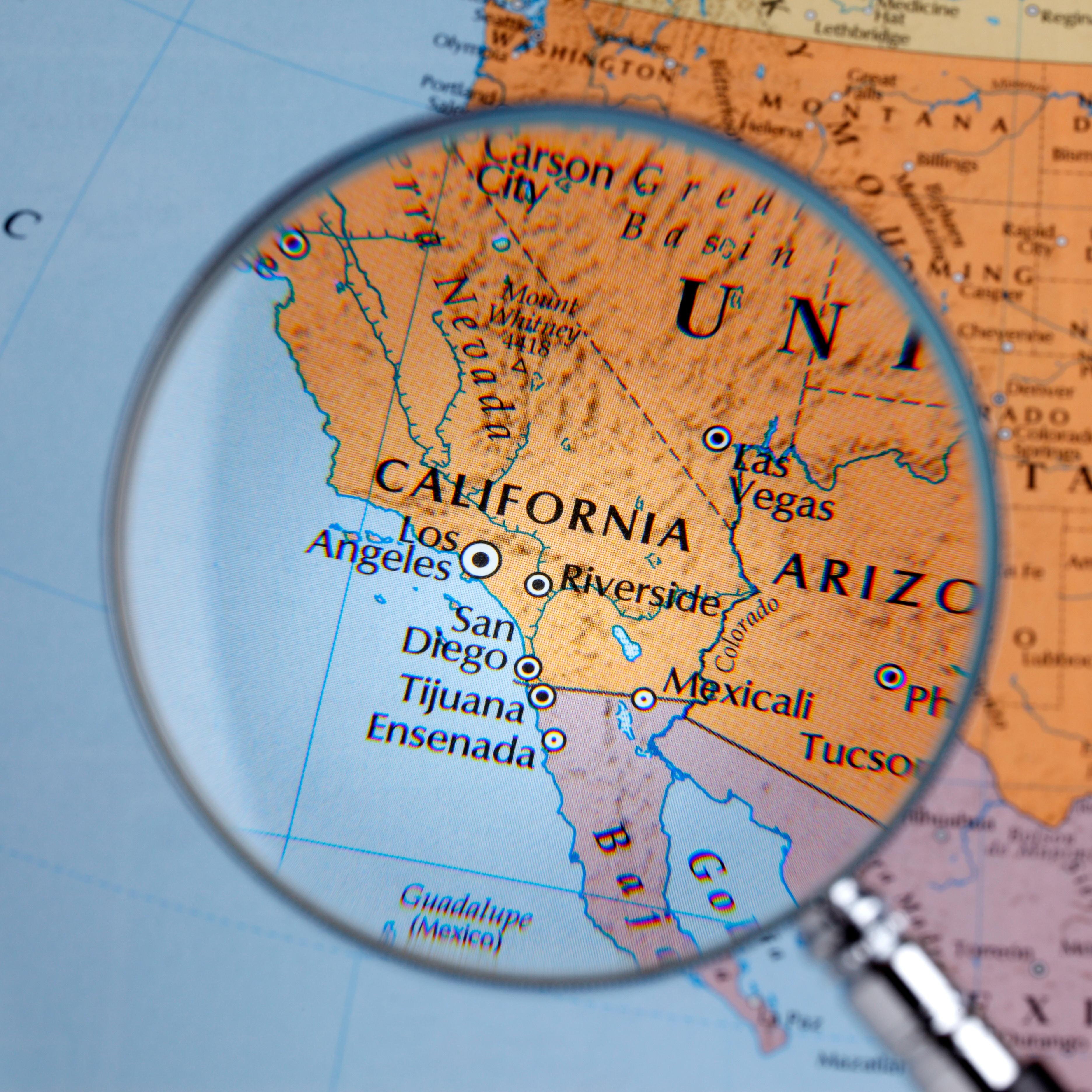 Map of Tijuana.