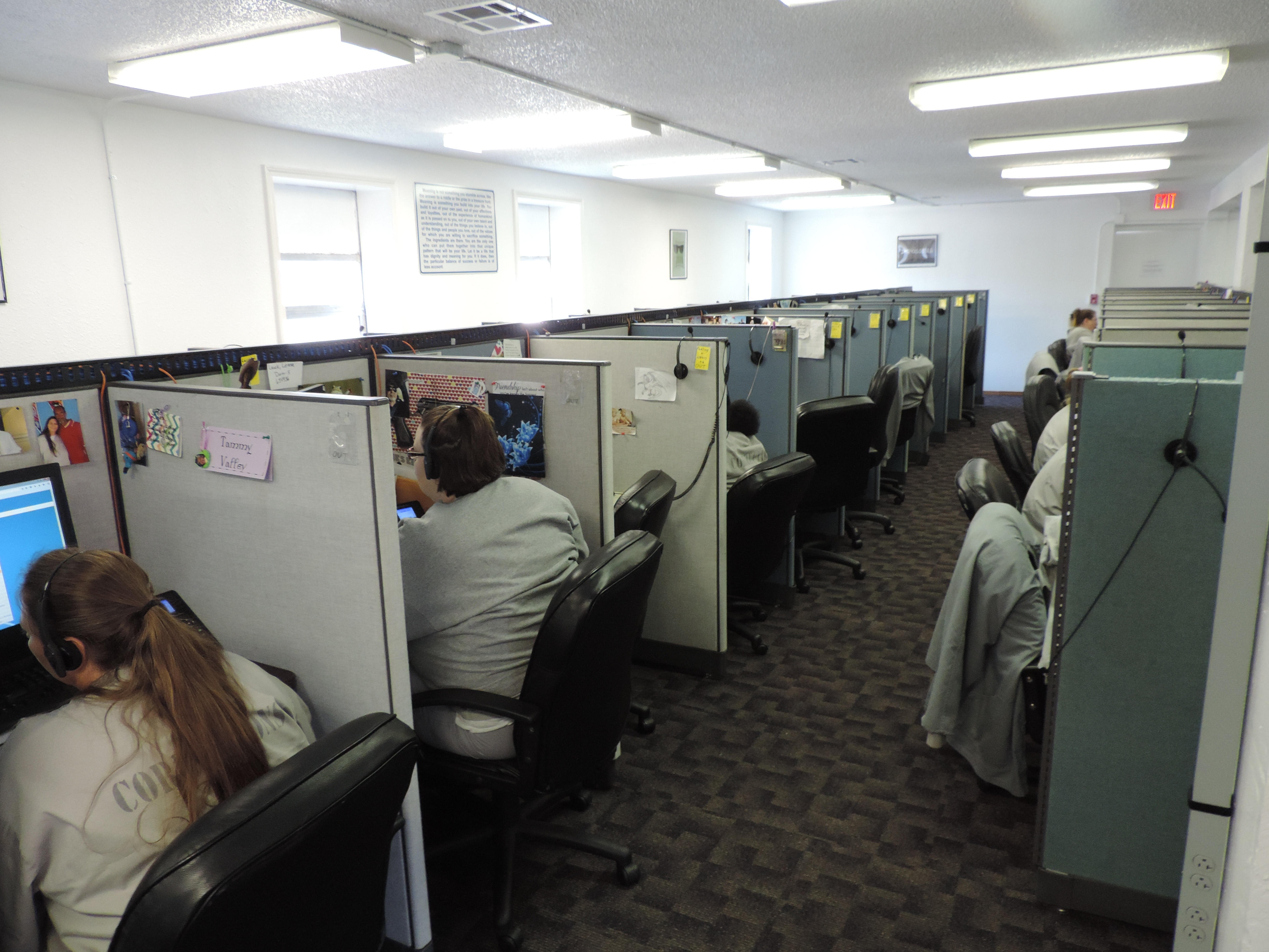 Technology Management Image: Correctional Facility Call Center
