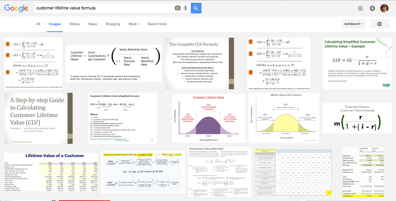 clv google search