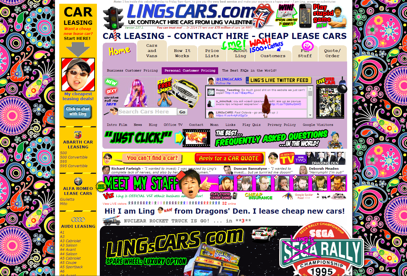 offline and online shoppers lingcars