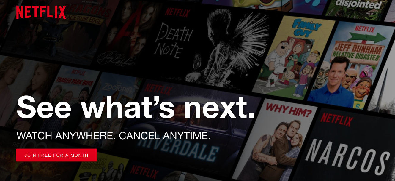 Netflix's Free Trial is their CAC