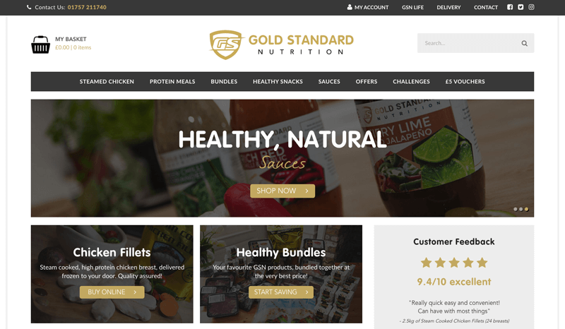 supplements loyalty program example gold standard home