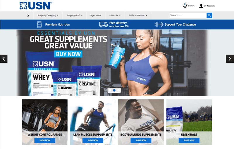 supplements loyalty program example usn home