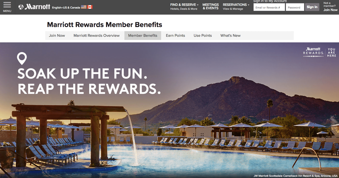 Marriott Rewards Top 7 VIP