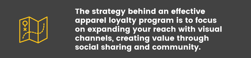 Loyalty Program in the Apparel Industry strategy