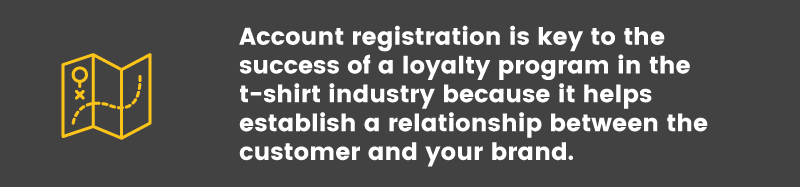 Loyalty Program in the T-Shirt Industry strategy