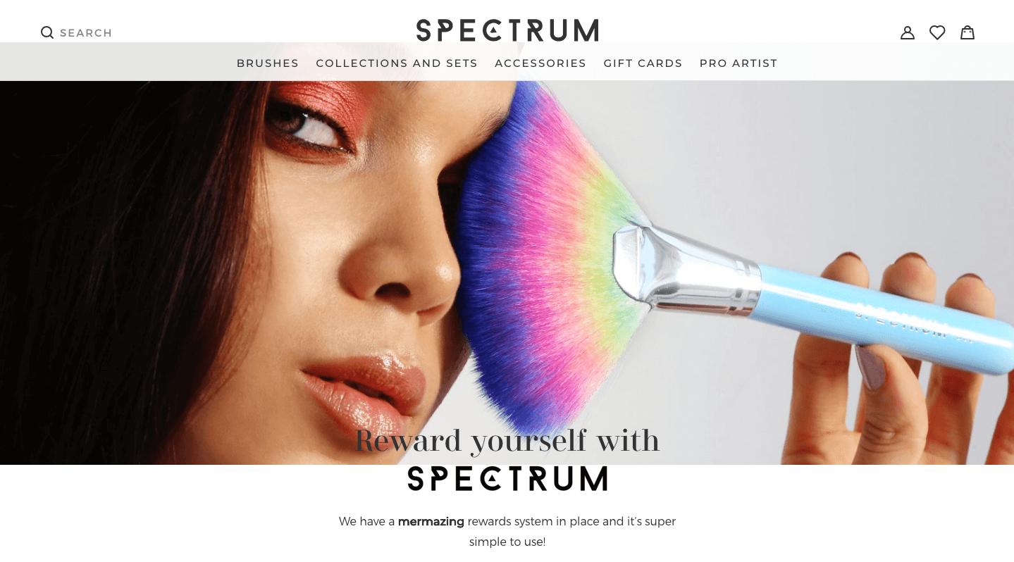 Spectrum explainer page banner