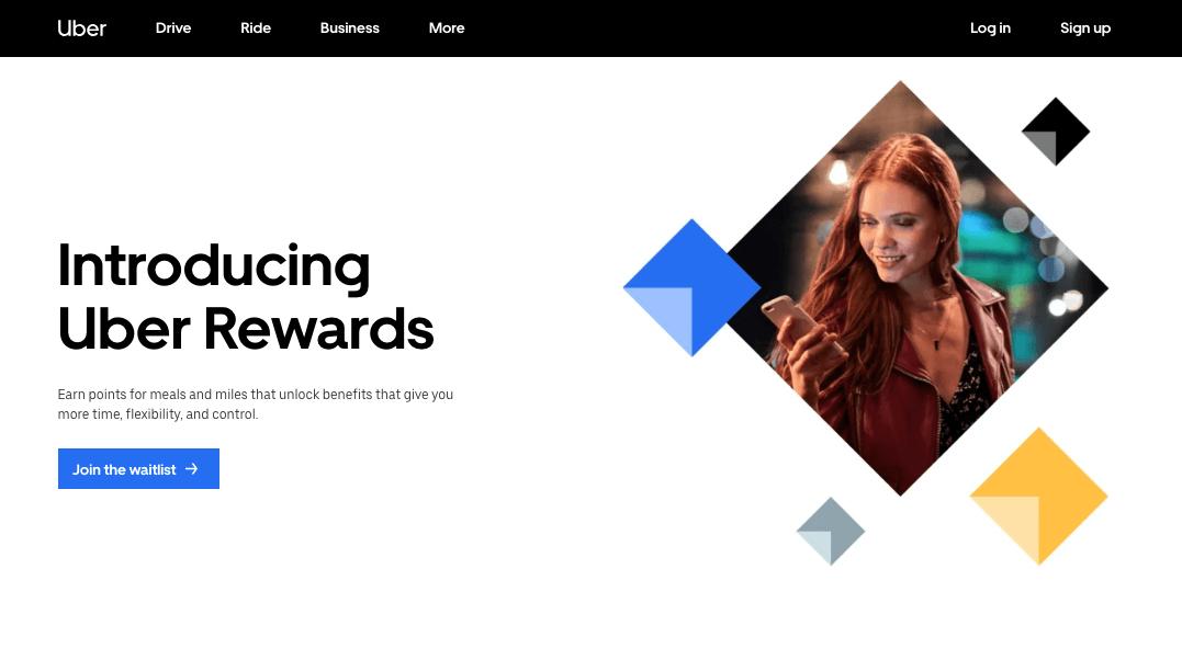 Best Rewards of 2018 - Uber Rewards home