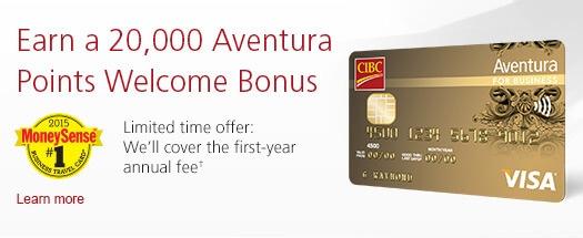 welcome points credit card bonus