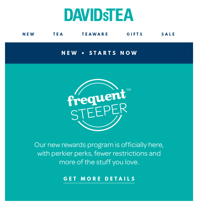 10 reasons customers abandon program -DAVIDsTEA-Program-Changes-2018