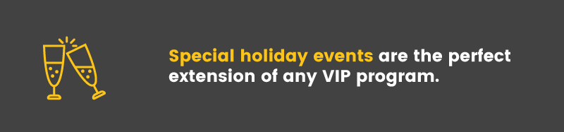 holiday marketing special events