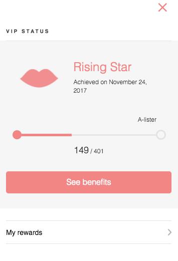 E.l.f Rising Star Rewards