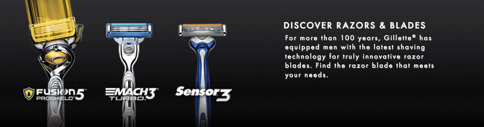 Gillete creates recurring revenue through the sale of replaceable razor blades