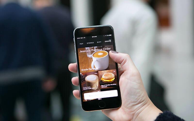 Starbucks App Previous Order