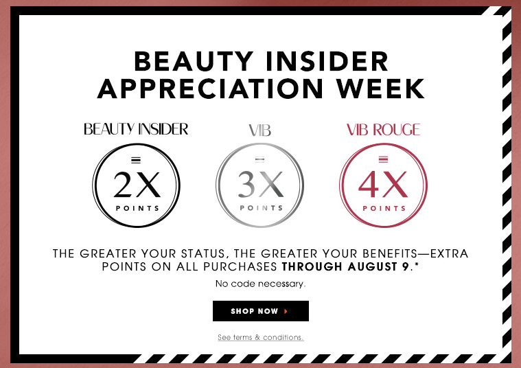 Sephora Beauty Insider Appreciation Event