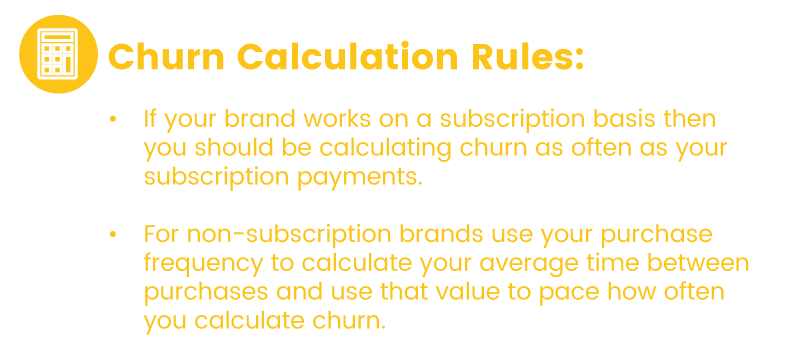 Churn Rate Calculation Frequency Tips