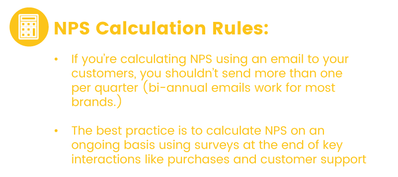 net promoter score frequency rules