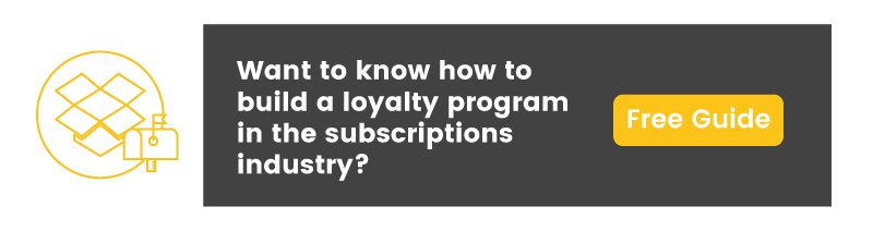 loyalty program in the subscriptions industry guide CTA