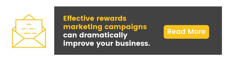 christmas rush rewards marketing CTA