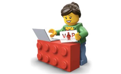 LEGO VIP program parents