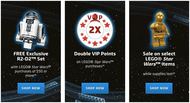 LEGO VIP program rewards