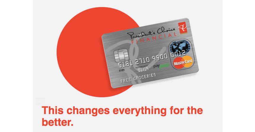 PC Optimum Credit Card