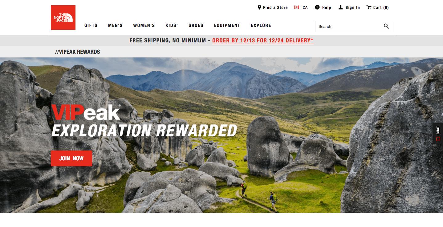 vipeak rewards explainer page