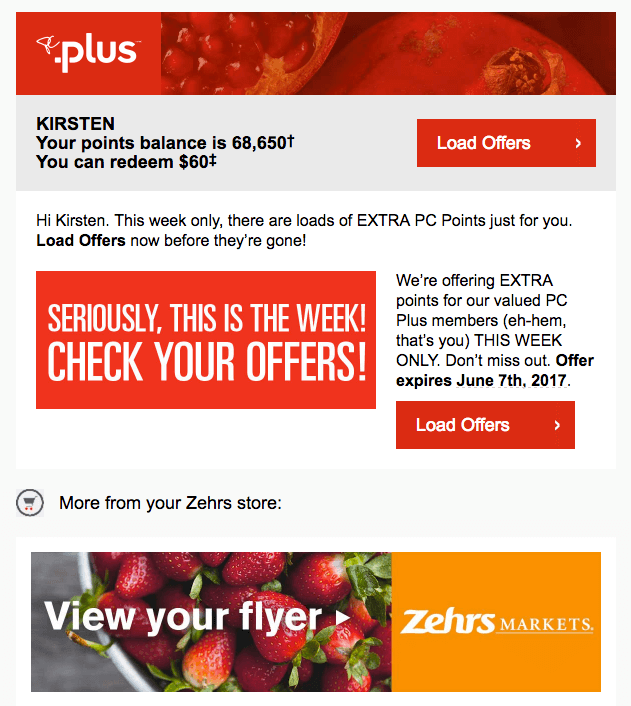 PC Plus Weekly Offers Email