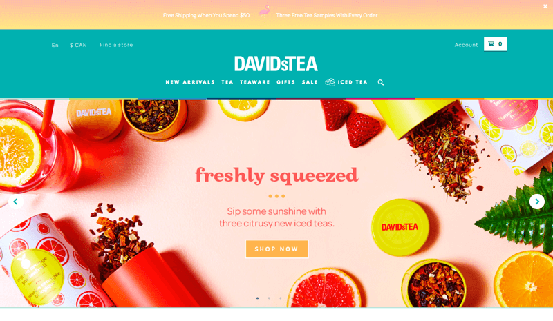 Best Customer Experiences DAVIDsTEA