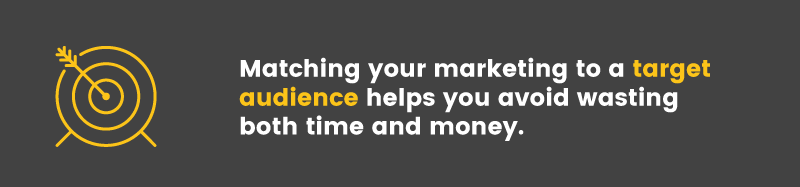 reduce CAC target audience