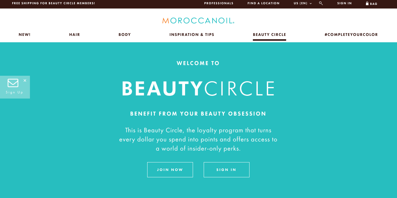 5 Benefits of Building an Online Brand Community - Moroccanoil Beauty Circle banner