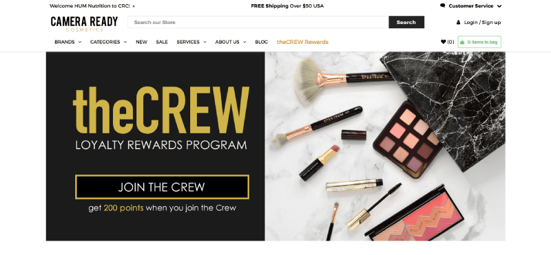 reactivate dormant customers with a rewards program like CRC's theCREW
