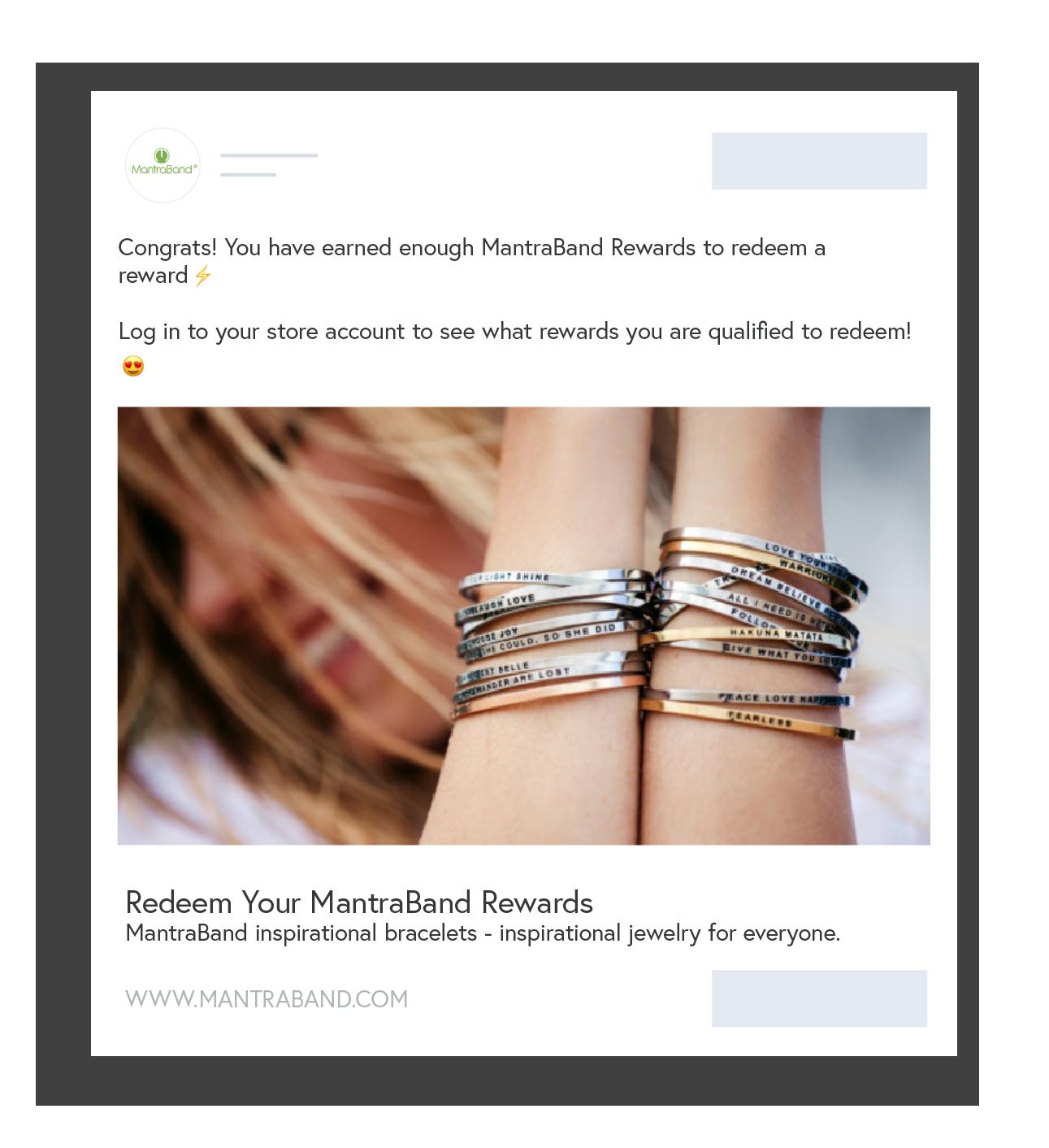 New Smile App - Shoelace - Existing customers redeem rewards with retargeting