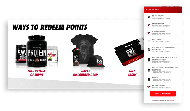 Run Everything Labs rewards