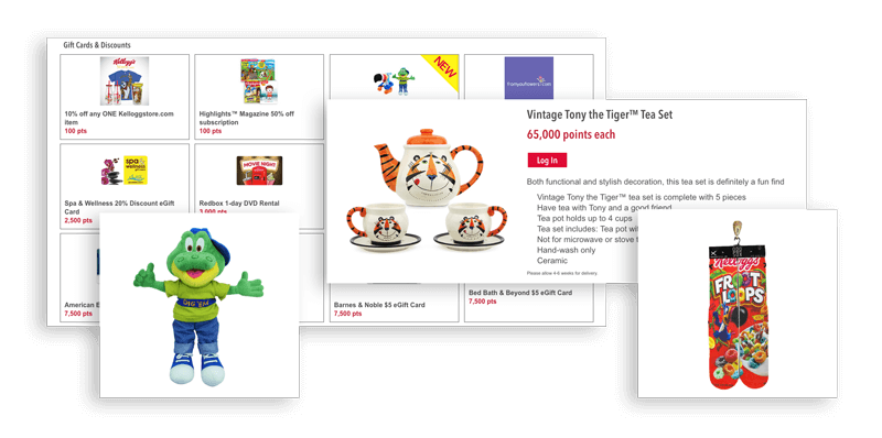 Kellogg's Family Rewards catalog