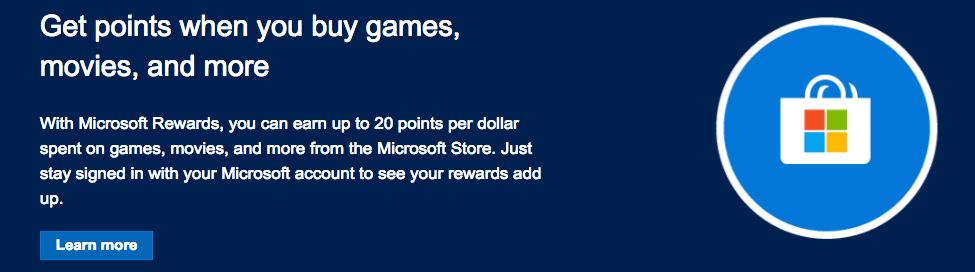 Microsoft Rewards overview