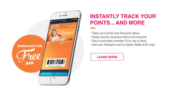 ultamate rewards mobile app
