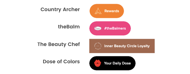 Loyalty program launchers with custom images