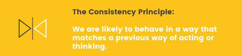 consistency principle definition