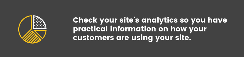 convert visitors into buyers site analytics